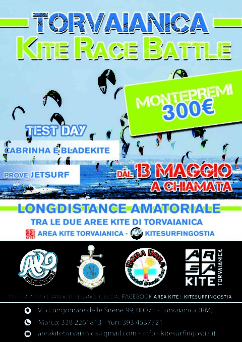 Torvaianica Kite Race Battle